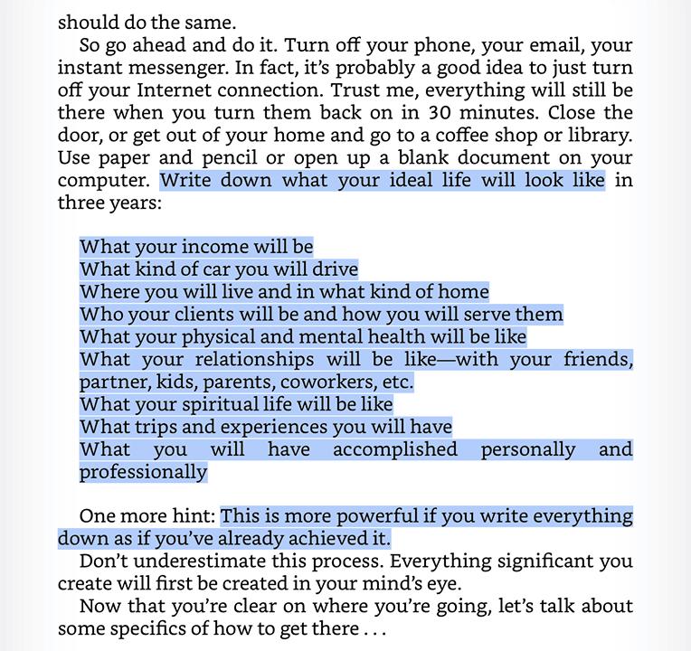 Скрийншот от книгата Launch за въпросите