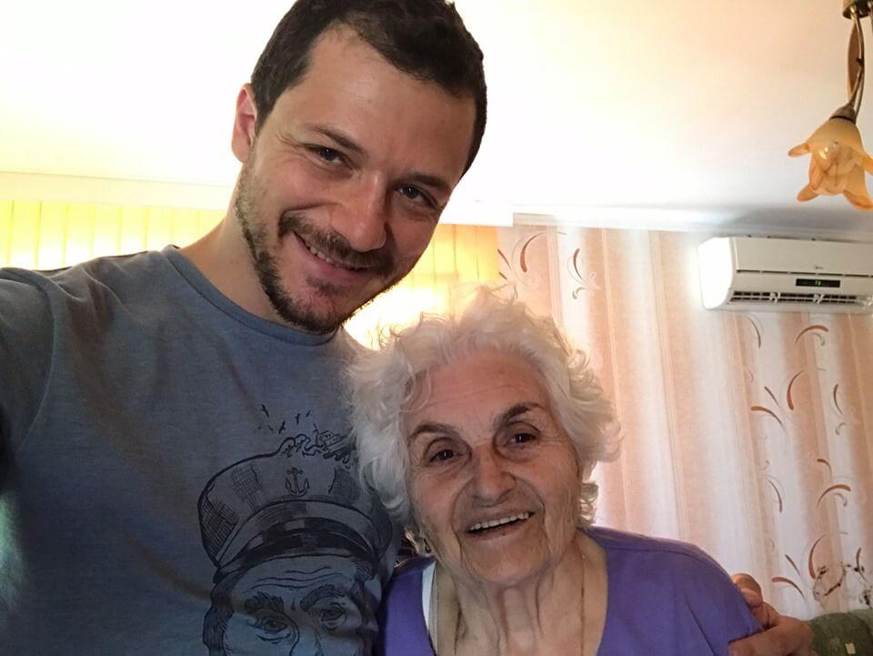 Обичам те, бабче!