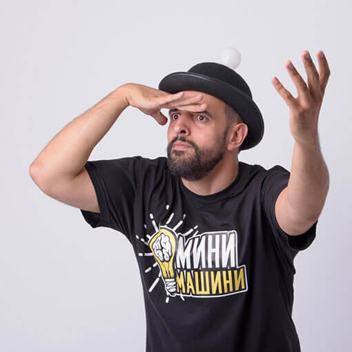 Михаил Стефанов - Свръхчовекът с Георги Ненов