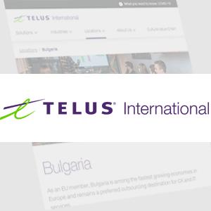 Telus International Europe - Свръхчовекът с Георги Ненов